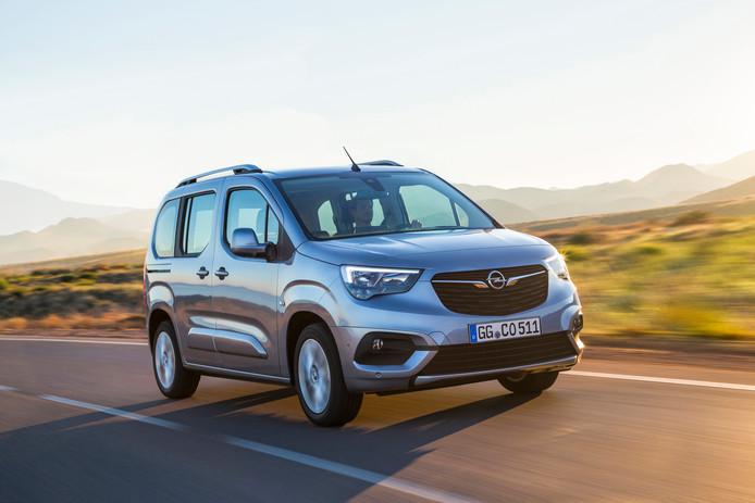Opel Combo Tour: niet meer zo goedkoop, wel comfortabel en ruim.