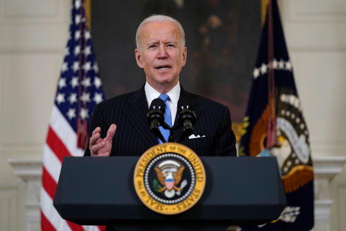 President Biden maakte vandaag de samenwerking tussen Merck en Johnson & Johnson bekend.