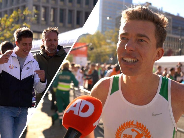 AD-verslaggever Pim Bijl loopt marathon van Rotterdam in 2.28,10