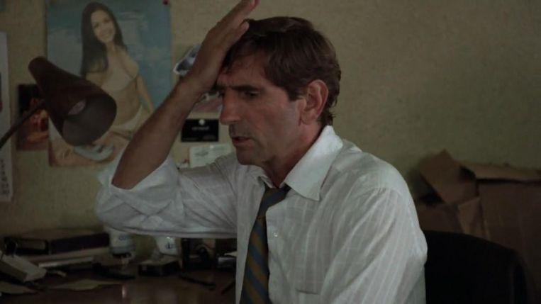 Stanton in Repo Man, 1984. Beeld