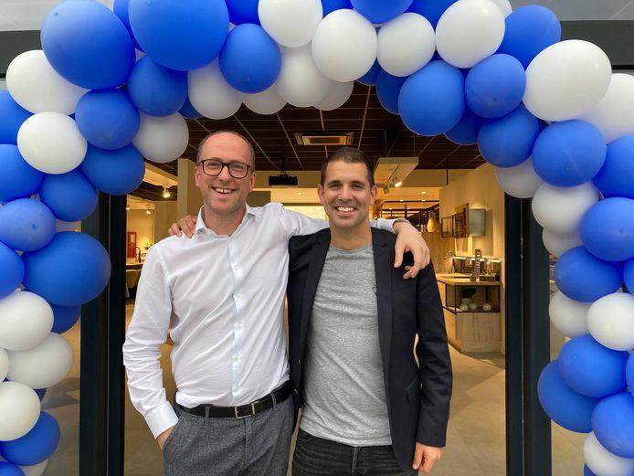 Thomas Batjoens en Matthias Lambrecht