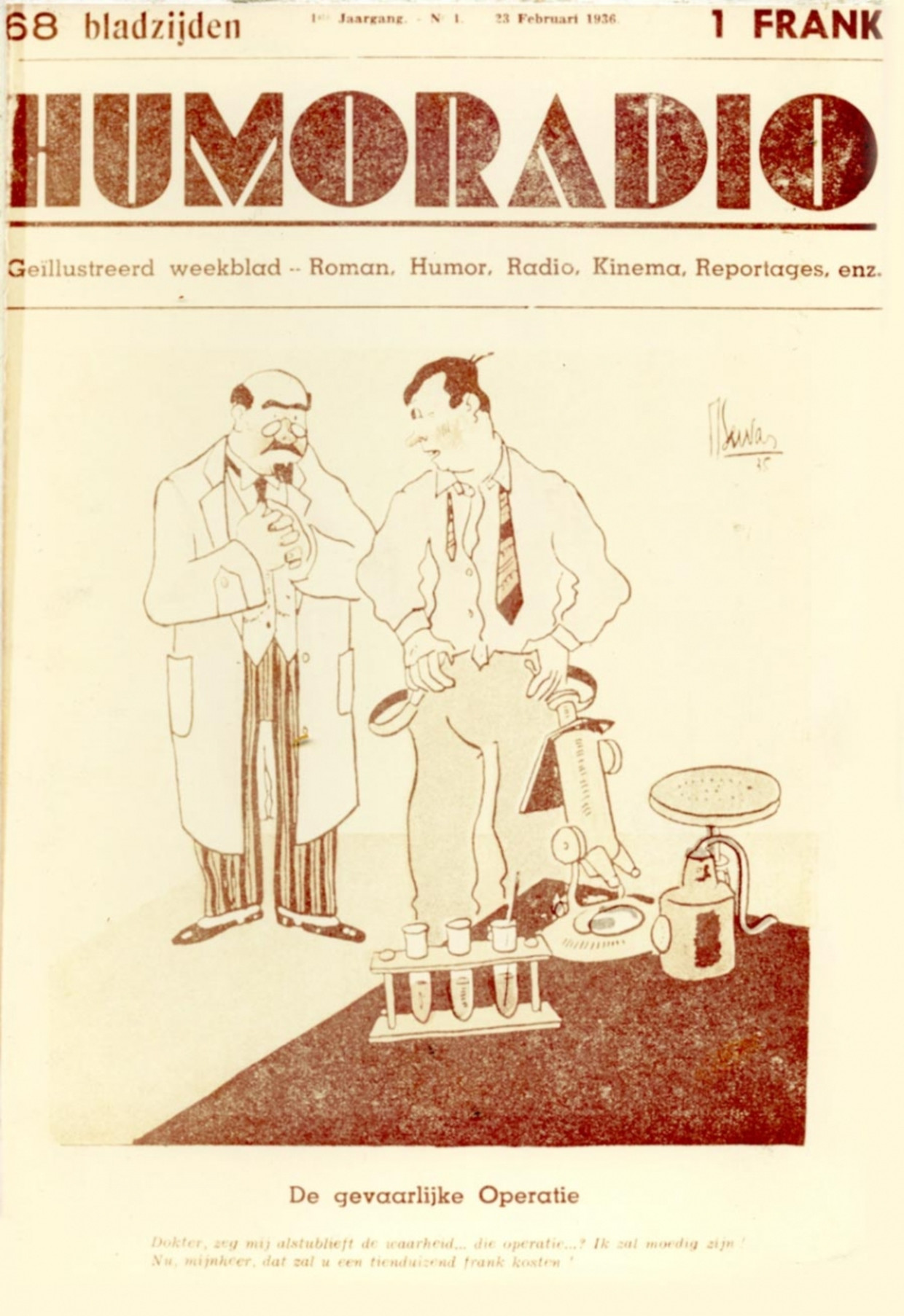 23-02-1936 Beeld HUMO