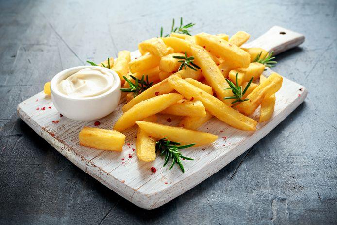 Patat met mayonaise, wie zegt daar nou nee tegen.