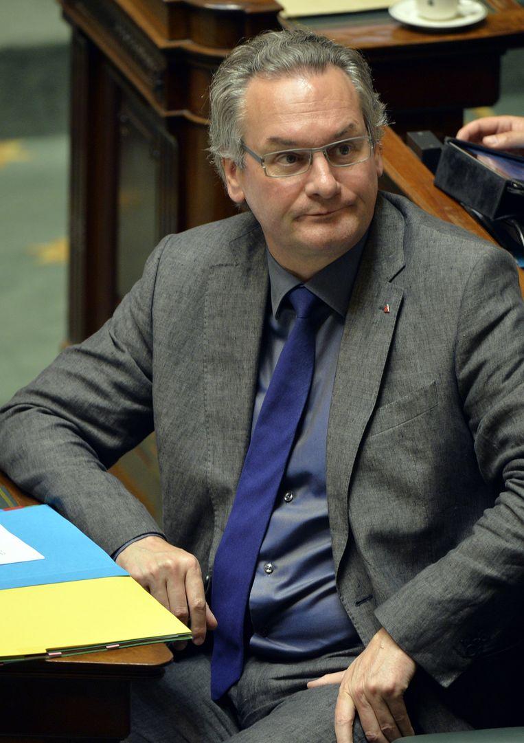 Minister van Overheidsbedrijven Jean-Pascal Labille. Beeld BELGA