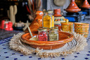 Specerijen voor De Tagine worden speciaal gemalen in Marrakech.