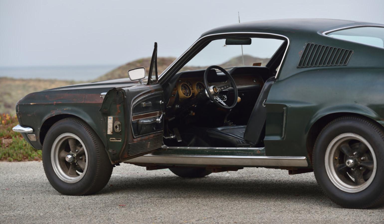 De Ford Mustang uit de film Bullit waarin Steve McQueen de hoofdrol speelde, bracht vorig jaar miljoenen euro's op.