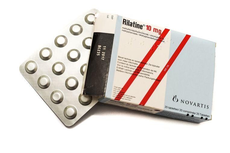 Vooral het medicijn Rilatine is bekend. Daarnaast is er ook het minder bekende Equasym.