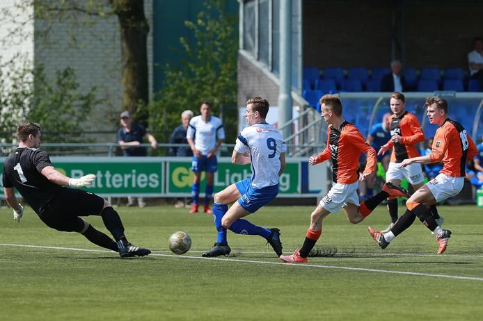22-04-2019: Voetbal: Deurne v Venlosche Boys: Deurne.