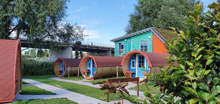 Camping Zeeburg. Beeld