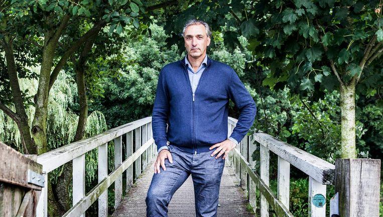 Robert Maaskant in het Mastbos: `Ineens belt Hans van Breukelen op: je bent het niet geworden. Dat kwam als een donderslag bij heldere hemel.' Beeld Aurélie Geurts