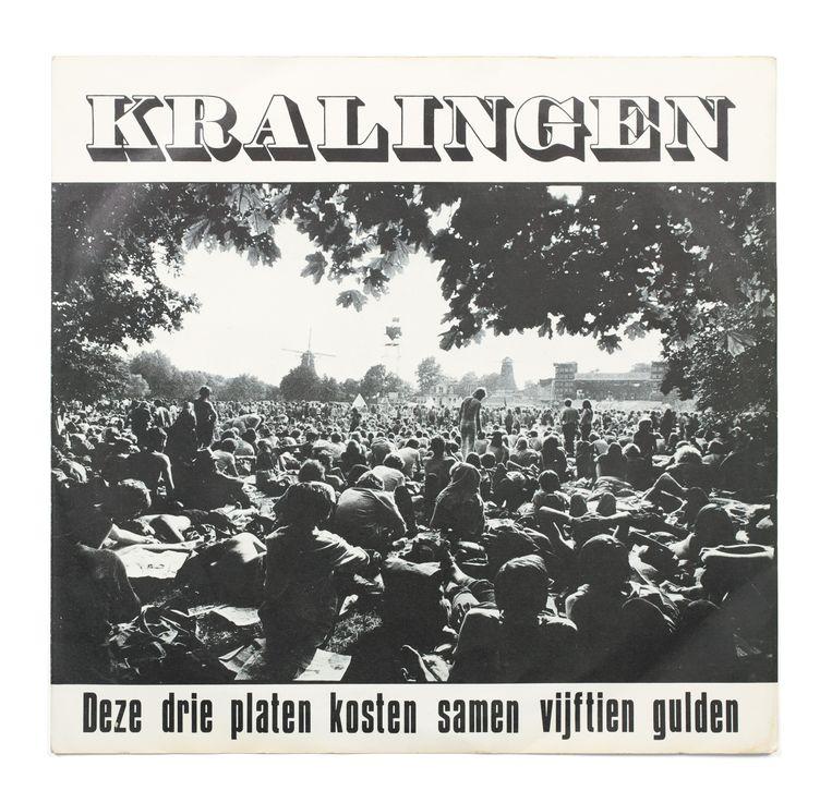 Driedubbelalbum met opnames gemaakt op het driedaagse Holland Pop Festival dat in 1970 werd gehouden in het Kralingse Bos.  Beeld -