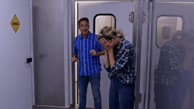 Andy en Dina slikken speciale thermometerpil in 'Ze Zeggen Dat'