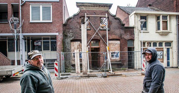 """,,Mensen vragen of we er geld bij hebben gekregen."""" Vader en zoon Van Gorp voor de rotste kies van de Telegraafstraat."""