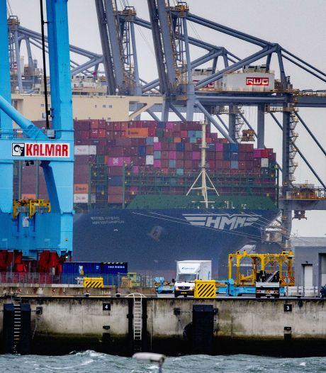 Rotterdamse haven groeit in 'turbulente tijden'