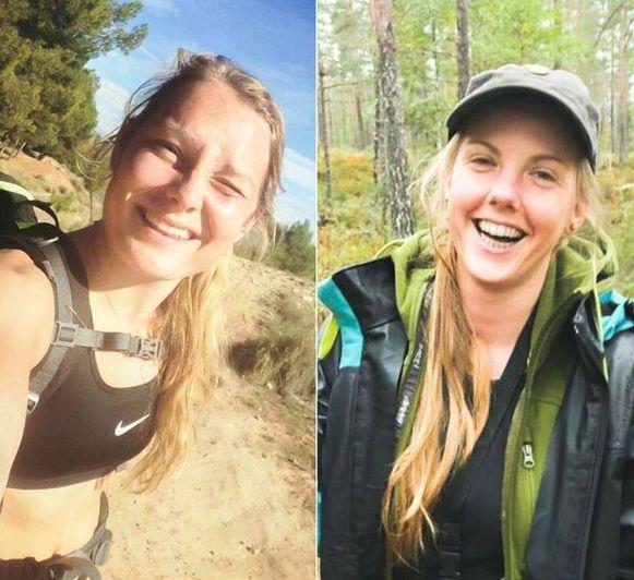 Louisa Versterager Jespersen (24) en Maren Ueland (28).