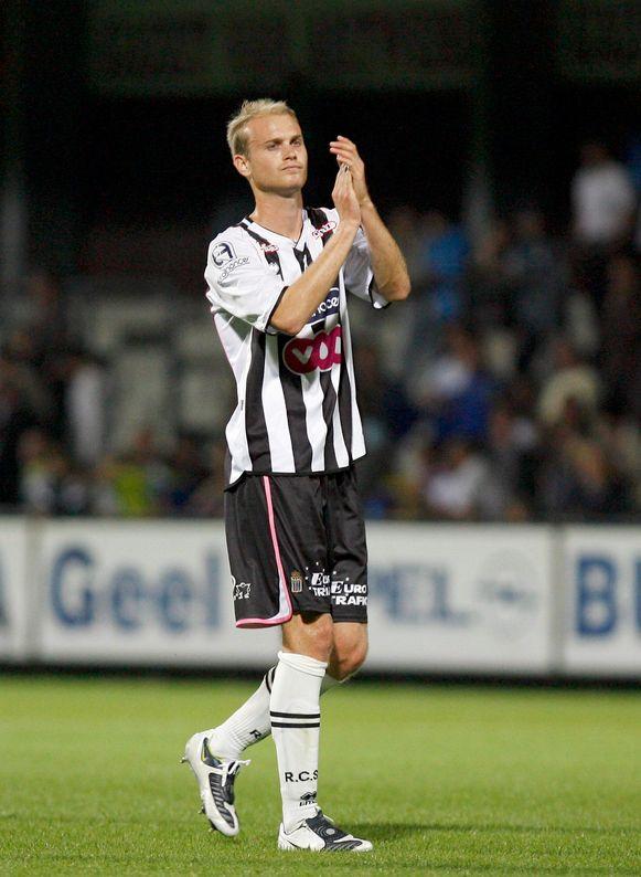 Tim Smolders speelde 2,5 seizoenen voor Charleroi. (Foto: 2008)