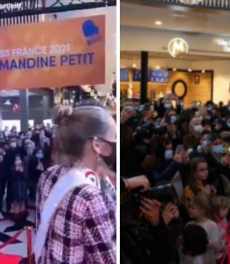 Première polémique pour Miss France qui s'offre un bain de foule dans un centre commercial