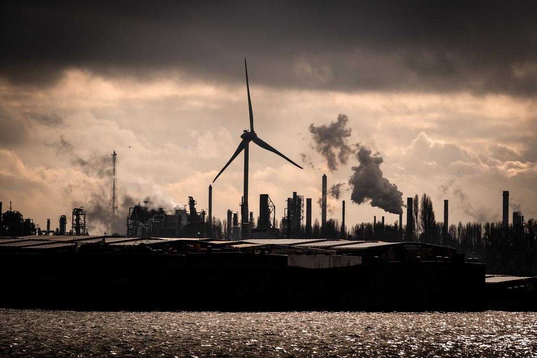 De Europese Commissie heeft voorstellen klaar voor een nieuwe 'koolstofgrensheffing', die een prijs plakt op de import van vervuilende goederen zoals cement en staal richting Europa. Beeld © Bart Leye