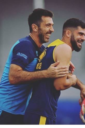 """Cobbaut, basisspeler bij Parma: """"Buffon geeft vaak goede raad, helaas wel in het Italiaans"""""""