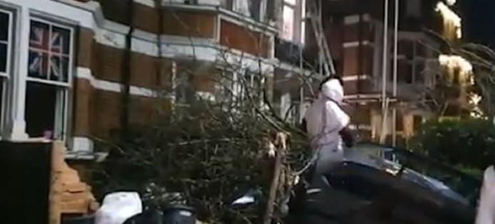 Michail Antonio s'est extrait lui-même de sa voiture