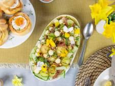Wat Eten We Vandaag: Meloensalade met peer en rauwe ham