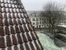 Eerste sneeuw in West-Brabant, later vandaag kleurt heel Nederland wit