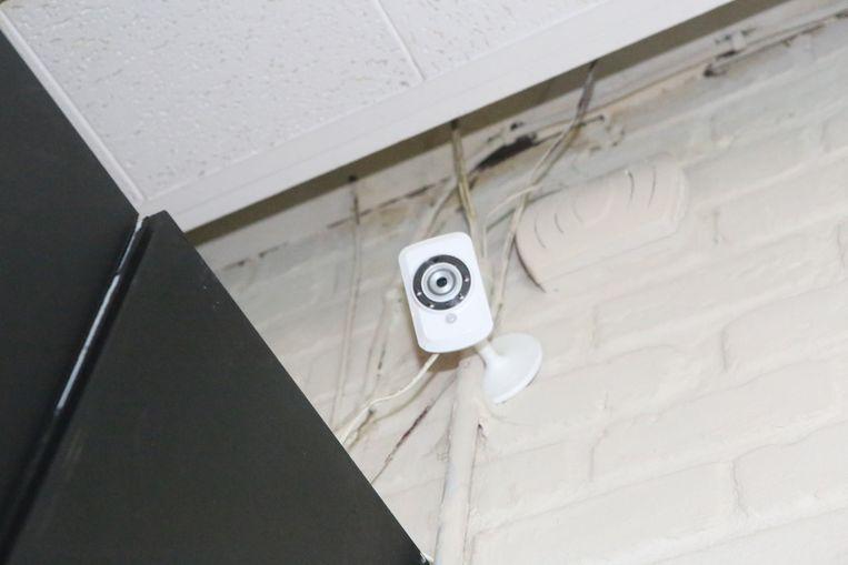 Duidelijk wisten ze dat er een bewakingscamera was