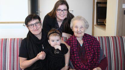 Tess Camerlinck zorgt voor viergeslacht en familiegeluk in Adegem en Lotenhulle