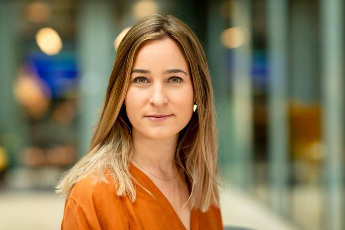 Aukeline Tolman staat aan het hoofd van Uber Eats Nederland.