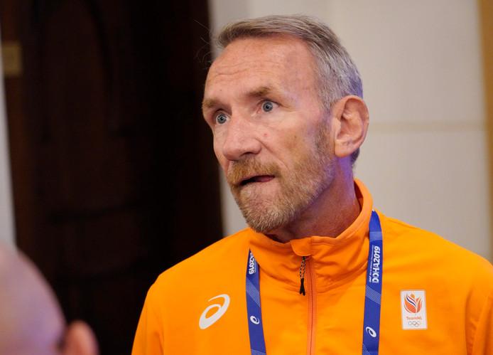 Ad Roskam, technisch directeur van de Atletiekunie.