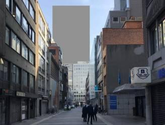"""Torens van 100 meter achter Pelikaanstraat: dat zou er zo uitzien. """"Dit verstikt de hele ontwikkeling"""""""