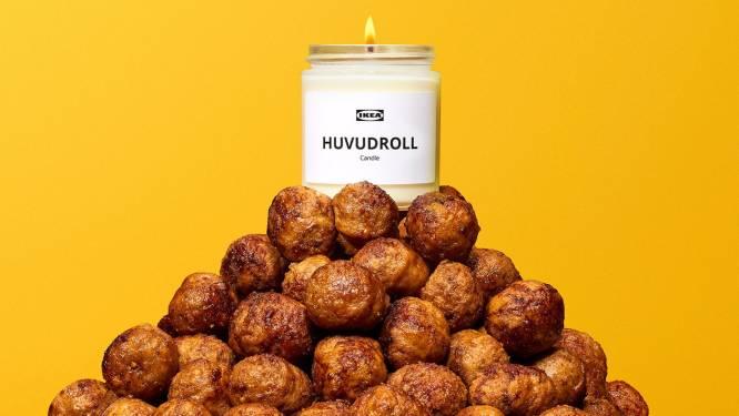 Ikea brengt geurkaarsen uit die ruiken naar hun iconische gehaktballen