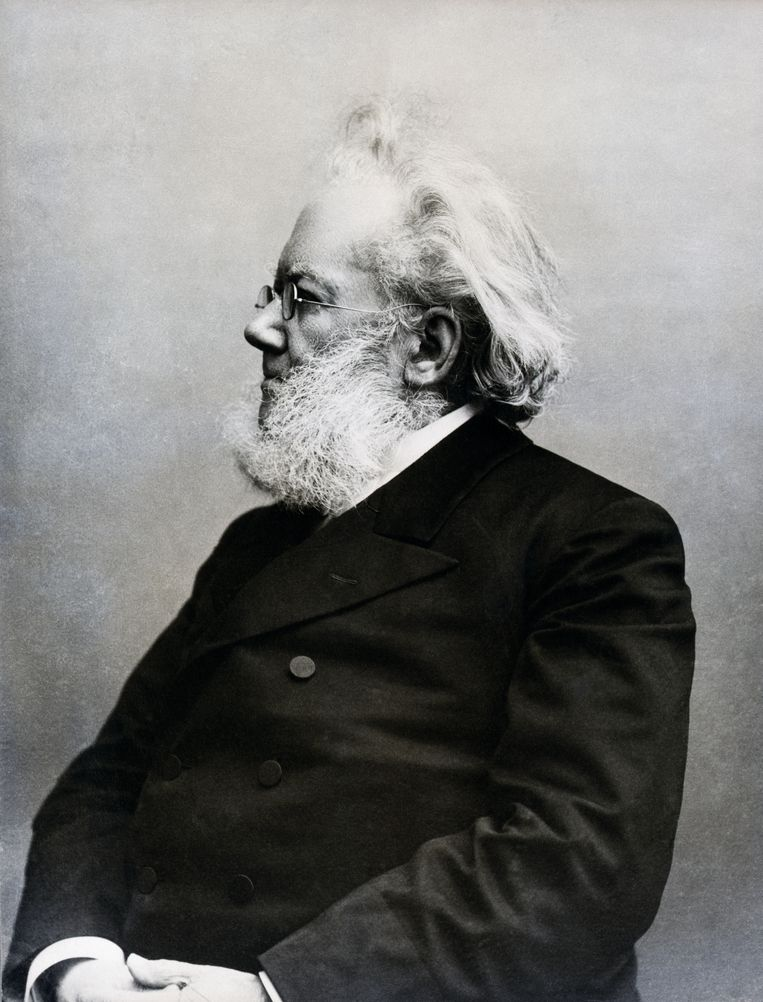 Norwegian playwright and poet Henrik Ibsen (1828-1906) is often considered the father of modern prose drama. Beeld Getty Images