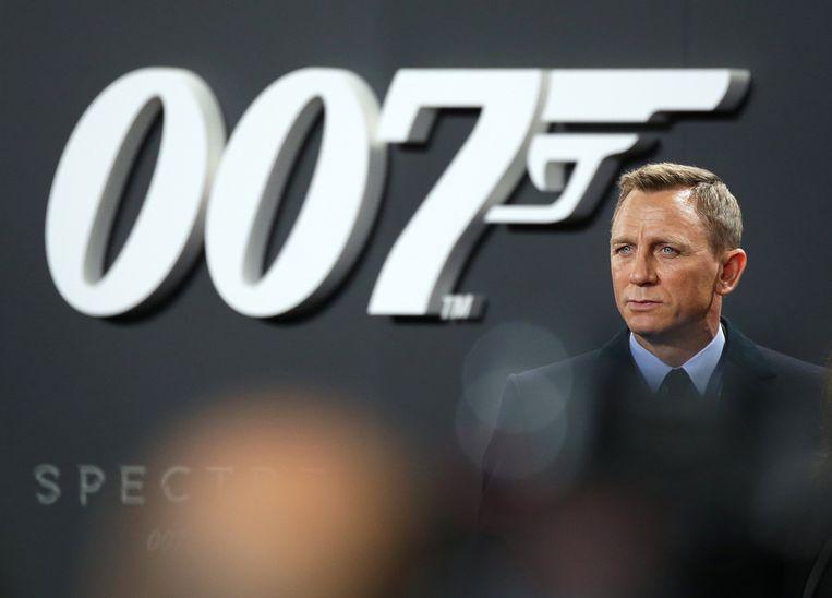 Daniel Craig, de huidige Bond.  Beeld EPA