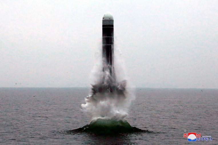 Beeld ter illustratie, Noord-Korea voerde de afgelopen jaren verschillende rakettests uit.