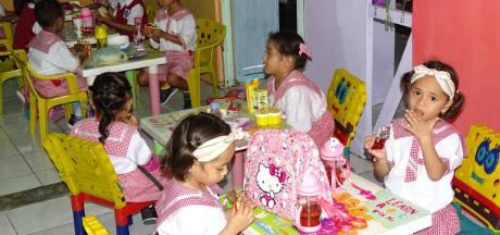 Weer geen motorrit, maar wel weer actie voor kansarme kinderen op de Molukken