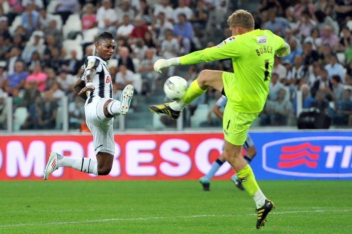 Elia in één van zijn spaarzame wedstrijden voor Juventus.