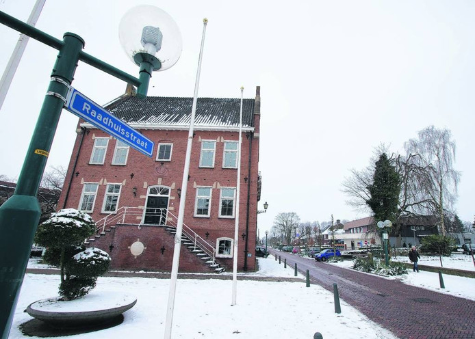 Het gemeentehuis in Lichtenvoorde.