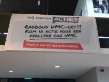 In paar dagen 1.500 handtekeningen voor betere cao Radboudumc