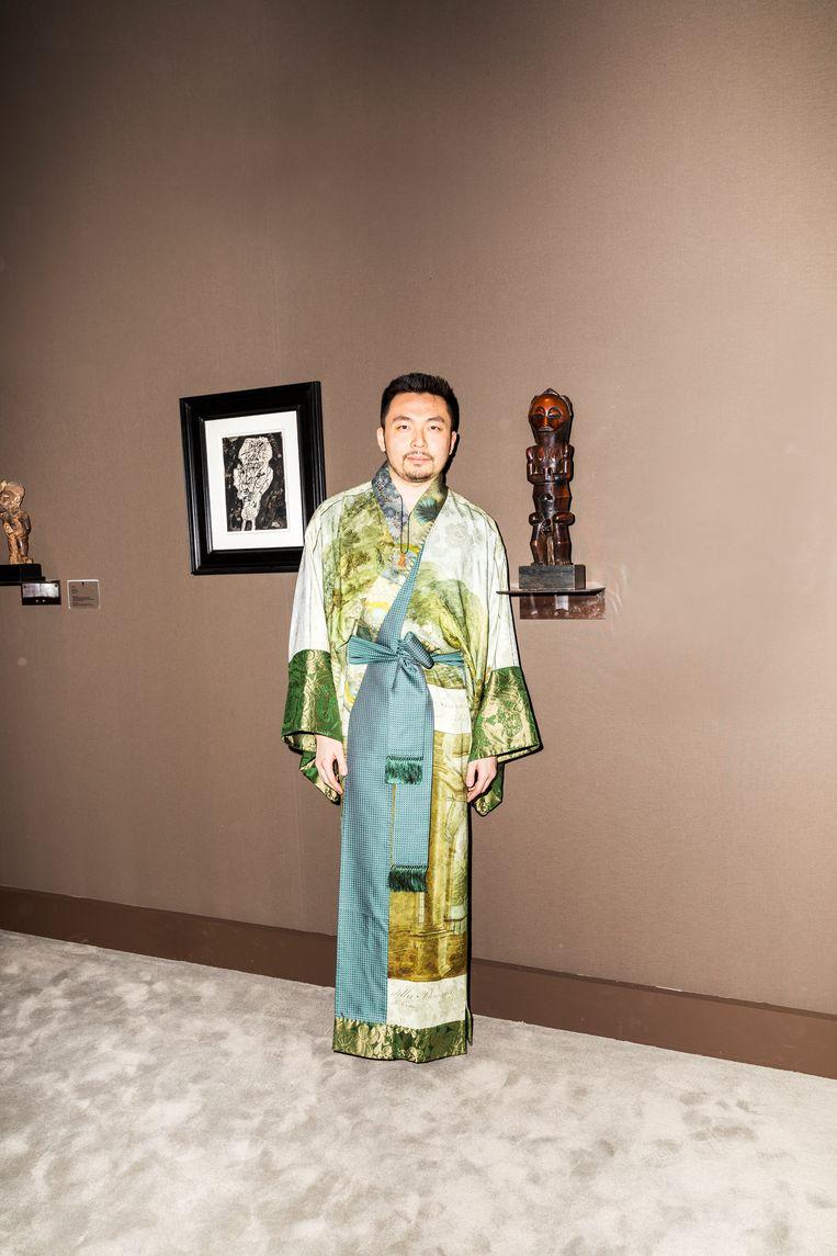 Leinuo Zhang Beeld Marie Wanders