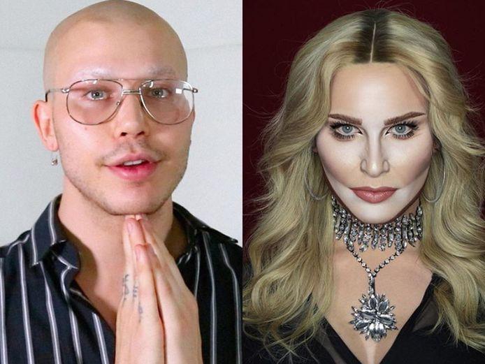 Elliot Rentz als Madonna