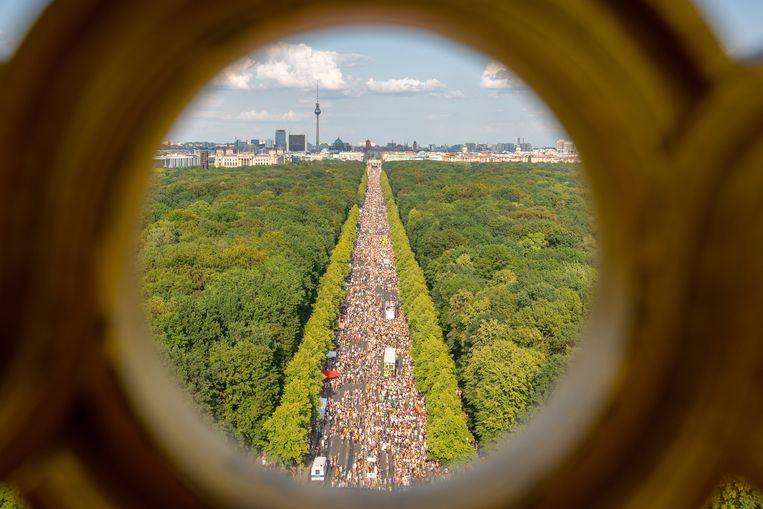 Pride van Berlijn. Beeld EPA
