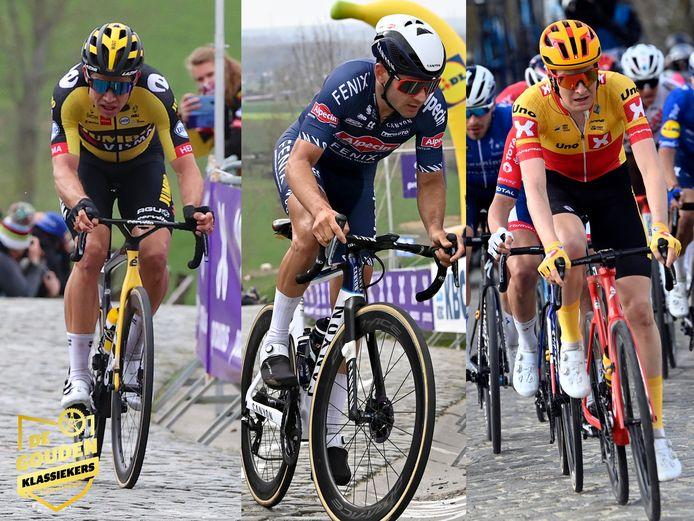 Van Aert, Vermeersch en Hoelgaard waren 3 puntenpakkers in de Vlaamse koersen.