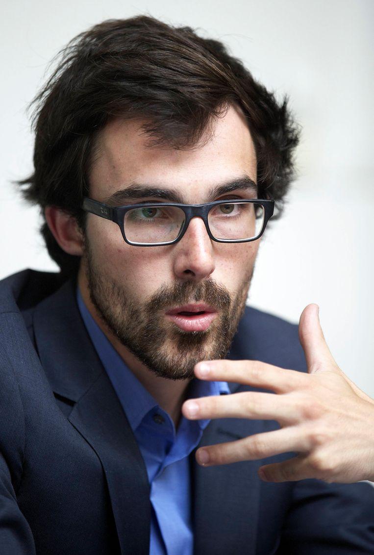 Kristof Calvo (Groen) Beeld BELGA