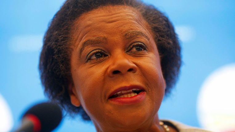 De Zuid-Afrikaanse anti-apartheidsactivist Mamphela Ramphele. Beeld REUTERS
