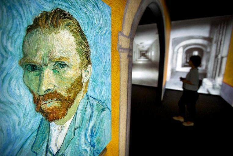 Van Goghs 'zelfportret'. Beeld ap