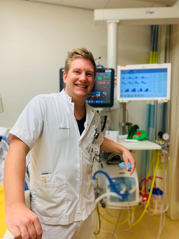 Maarten Koster is verpleegkundige op de intensive care van het Medisch Spectrum Twente.