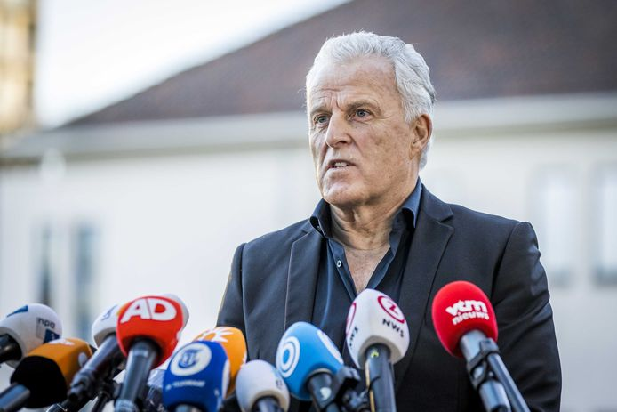 Archiefbeeld. Misdaadverslaggever Peter R. de Vries. (20/11/2020)
