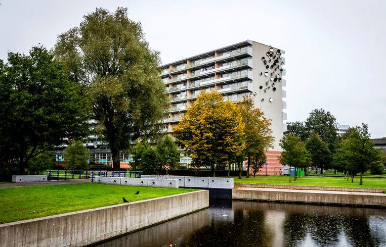 De flat Groeneveen. Beeld Hollandse Hoogte /  ANP