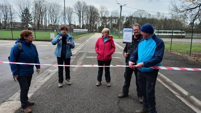 Wandelclub De Blauwvoet opent tijdelijke afgepijlde wandeling